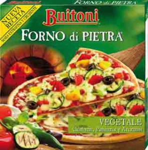 Pizza vegetal buitoni